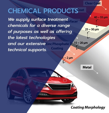 Banner CHEMICAL PRODUCT
