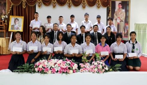 Scholarship Ceremony at Nong Khai, Nong Bua Lamphu and Udon Thani.