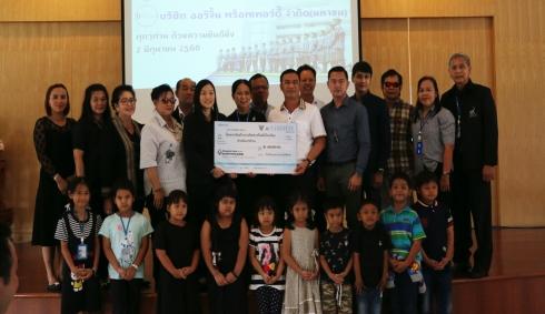 Scholarship Ceremony at Parksa Withedsuksa School.