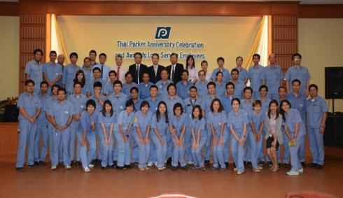 Thai Parkerizing Co., Ltd. organized a religious ceremony on 36th years anniversary
