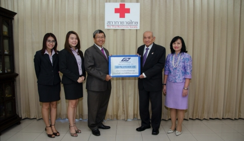 Thai Parkerizing Co., Ltd. Donated to earthquake victims in Nepal.