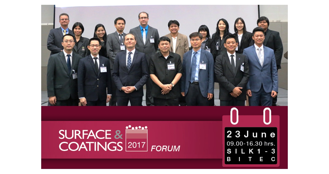 Surface & Coatings Forum in Manufacturing Expo 2017
