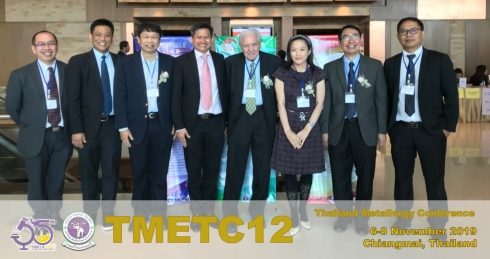 12th Thailand Metallurgy Conference (TMETC12)