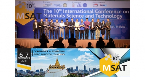 10th International Conference on Material Science And Technology (MSAT10)