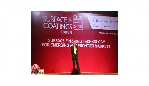 Surface & Coatings Forum in Manufacturing Expo 2016