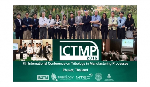 The 7th International Conference on Tribology in Manufacturing Processes (ICTMP 2016)