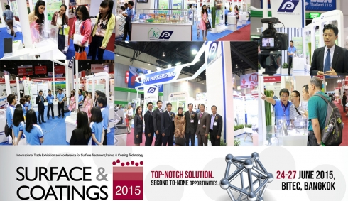 Manufacturing Expo 2015 in Surface & Coatings 2015.