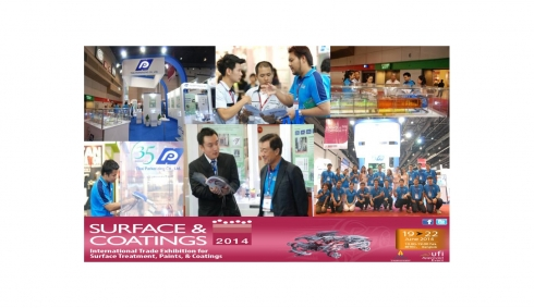 Manufacturing Expo 2014 in Surface & Coatings.