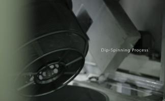 โดยการจุ่ม (Dip-Spin)